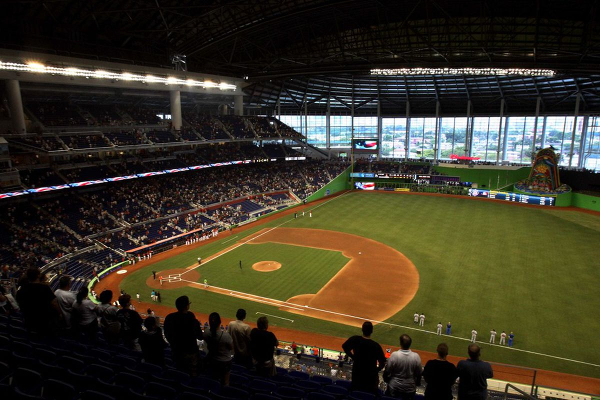 Given the early results we have seen, it is not likely that Marlins Park suppresses runs as badly as its home run numbers suggest.