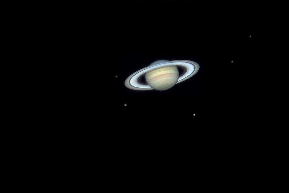 Saturns moons, 2006.