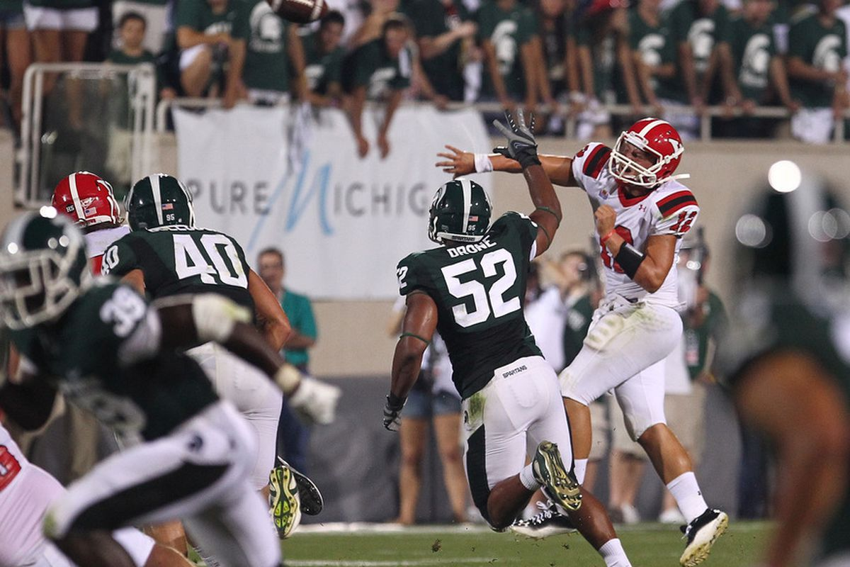 Youngstown State took on Michigan State last season (Photo by Dave Reginek/Getty Images)