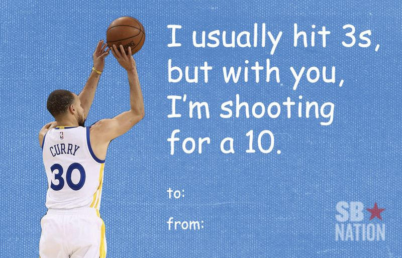 Send these Valentines Day cards to the sports fans in your life – Basketball Valentine Cards