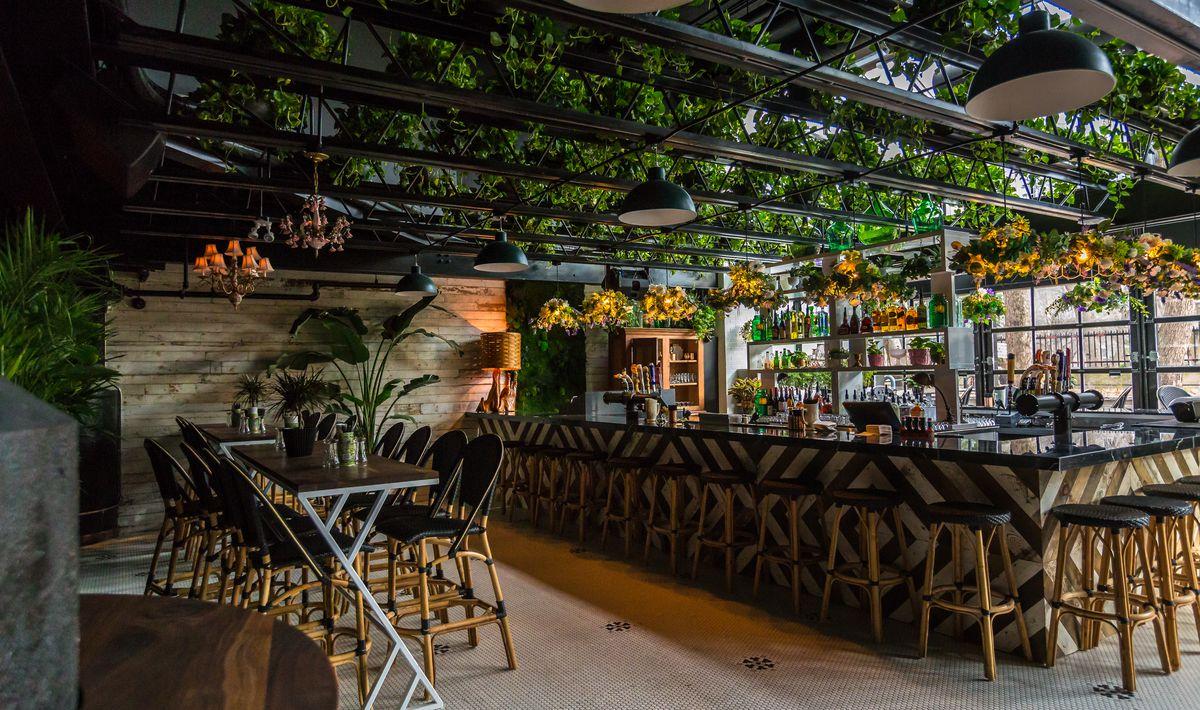 Restaurant Wunderkind Pj Goupil On Kampai Garden And