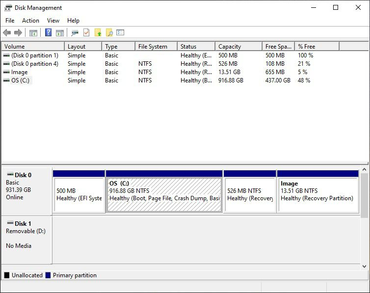 Use the Windows disk manager to make sure you have at least 15GB (more is better) for your Linux partition.