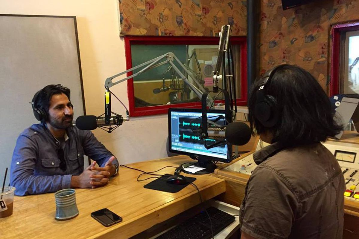 Racist Sandwich Hosts Zahir Janmohamed (left) and Soleil Ho