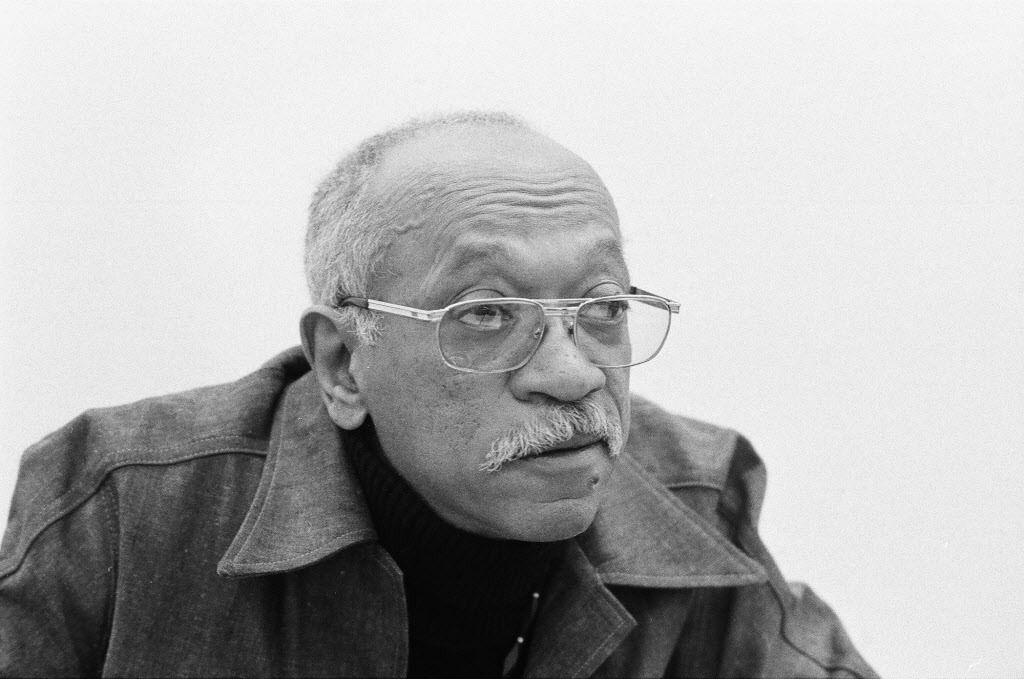 Artist Charles White in 1976. | Sun-Times files