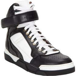 """<a href=""""http://f.curbed.cc/f/Barneys_SP_RNY_053014_Sneakers"""">Bi-Color High-Top Sneakers by Givenchy</a>"""