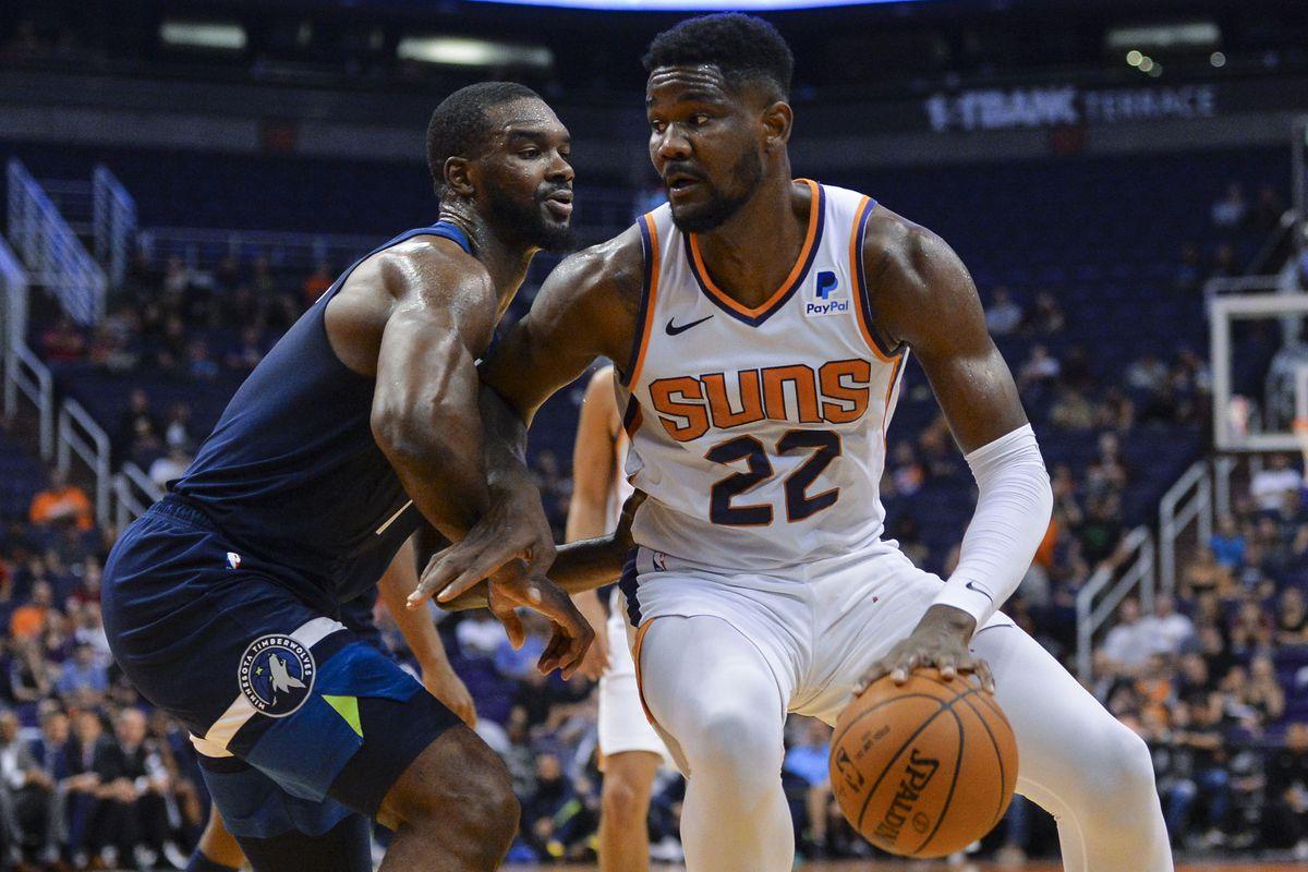 NBA: Preseason-Minnesota Timberwolves at Phoenix Suns