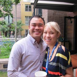 Paul Qui and his girlfried Deanna Saukam