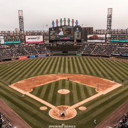 The White Sox play against the Tigers for the opener at Guaranteed Rate Field. | Erin Brown/Sun-Times