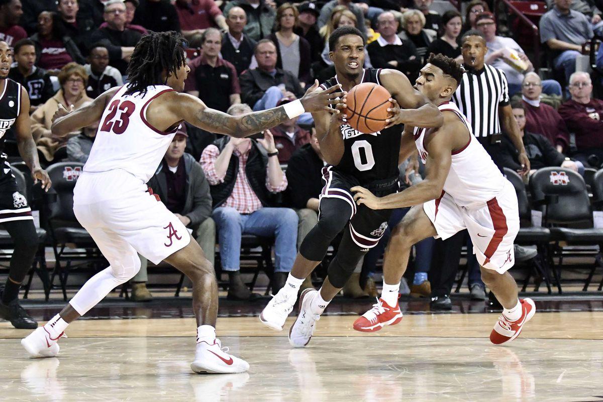 NCAA Basketball: Alabama at Mississippi State