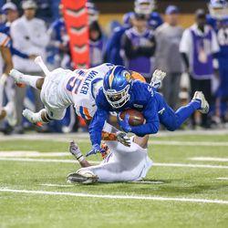 Spartan receiver Bailey Gaither