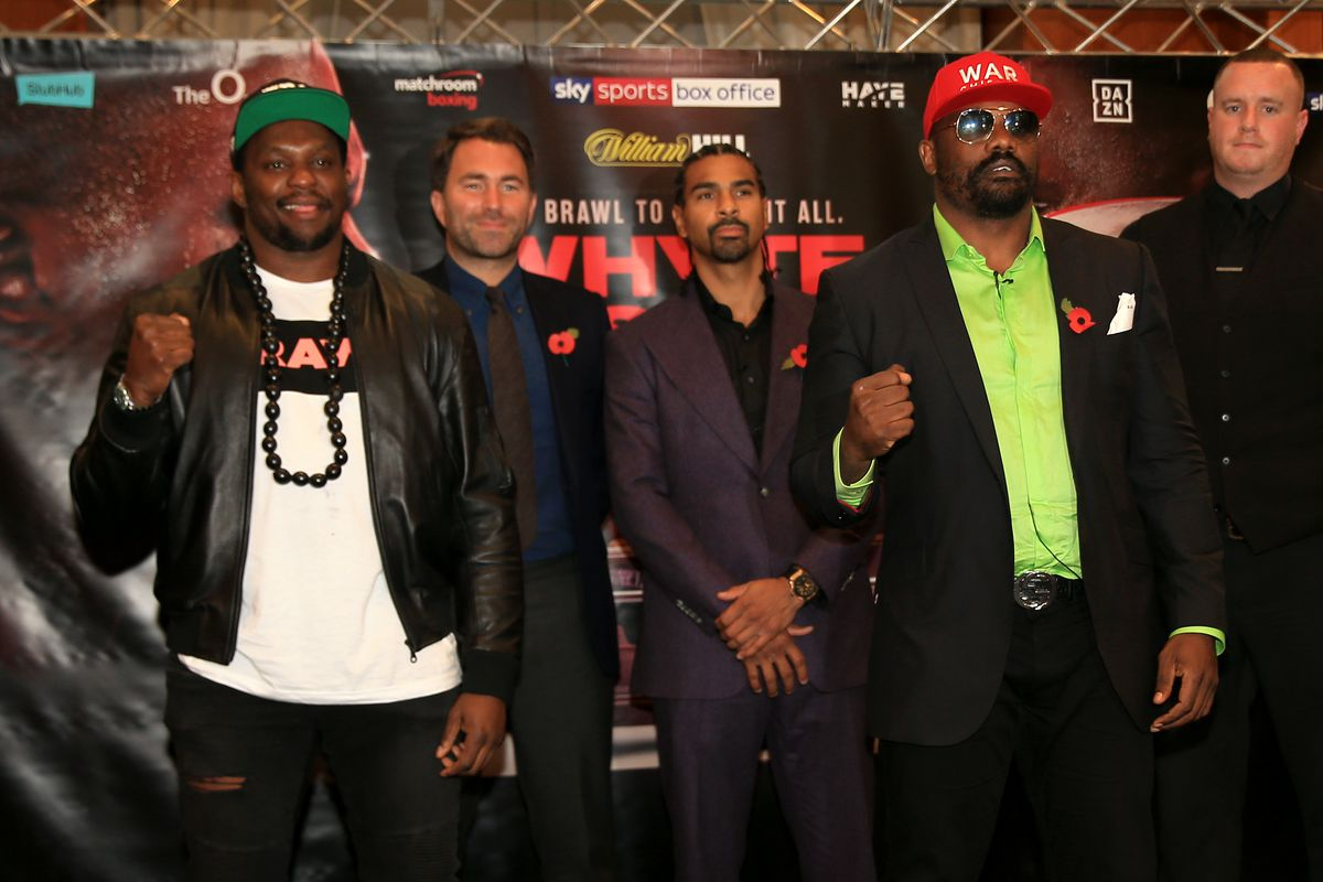Dillian Whyte Press Conference