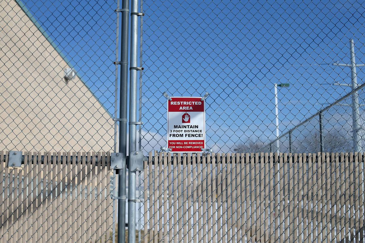 FILE — Fencing surrounds the perimeter of the Salt Lake Juvenile Detention Center in Salt Lake City on Friday, Feb. 5, 2016.