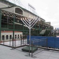 Chanukah is also represented