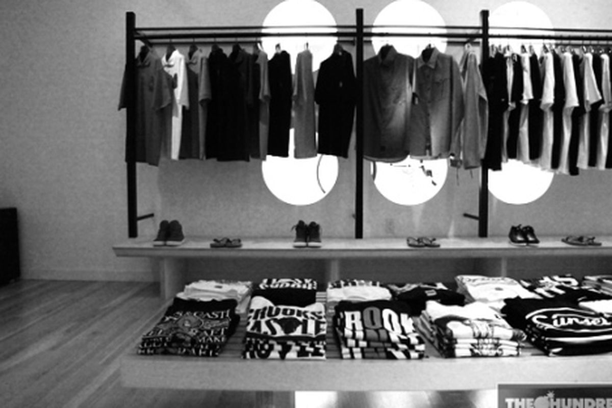 """Another day, another """"concept shop"""". Image via <a href=""""http://www.thehundreds.com/wordpress/?p=11398"""">The Hundreds</a>"""
