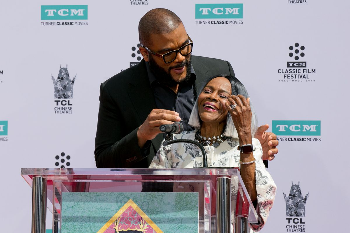 Tyler Perry and Cicely Tyson