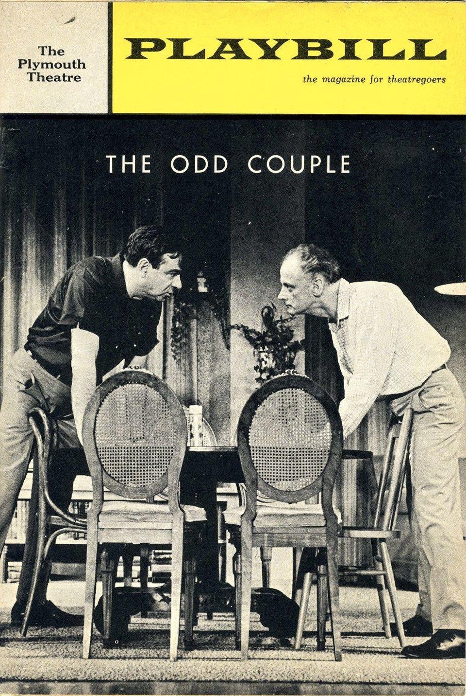 A copy of the original Playbill.