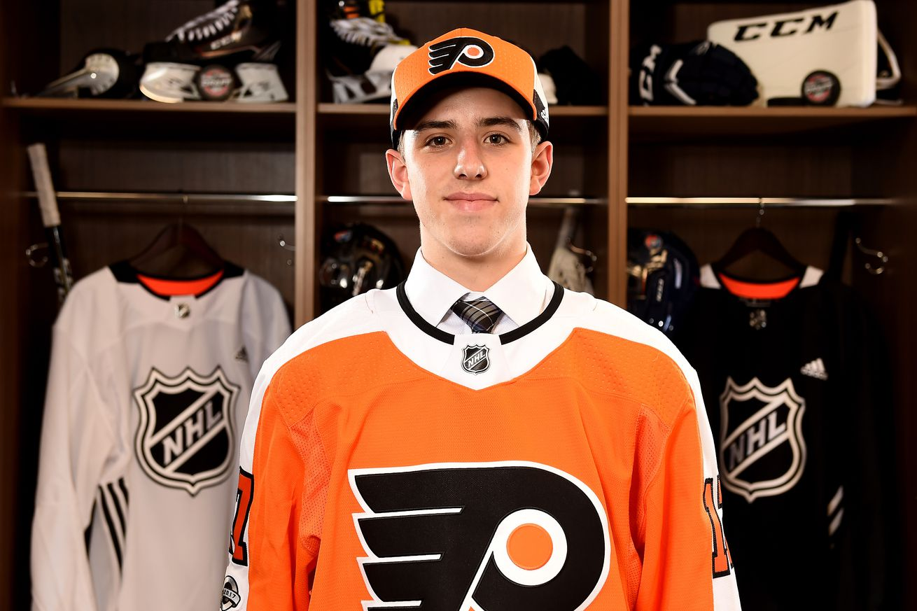 The cases for and against Morgan Frost being a Philadelphia Flyer for 2019-20