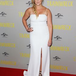 Amy Schumer at the Sydney premiere of <i>Trainwreck</i> in Halston Heritage.
