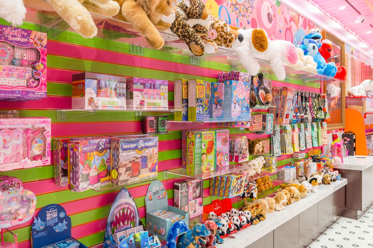 Toys at Sloan's Ice Cream