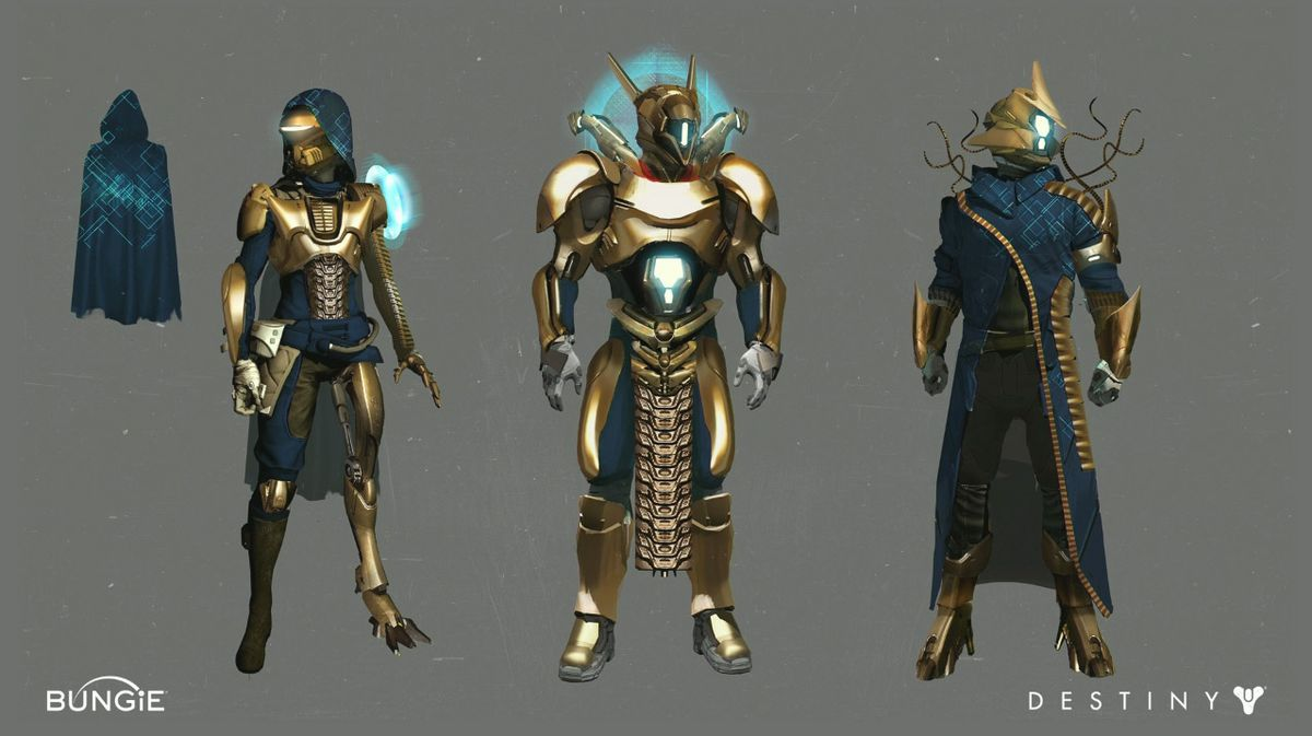 Here's the new raid gear you can get in Destiny Age of