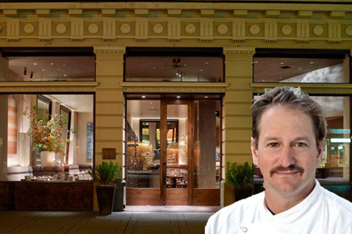 Ron Siegel is Michael Mina's new executive chef.