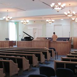 The chapel in the Abu Dhabi Stake Center.