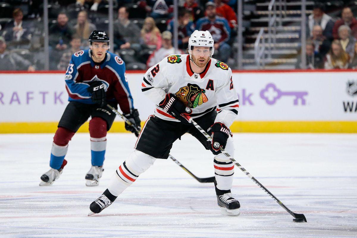 NHL: Chicago Blackhawks at Colorado Avalanche