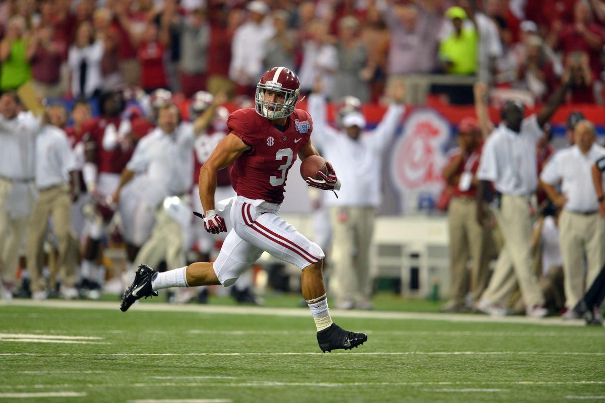 ... jersey by Alabamas Vinnie Sunseri in the More from SB Nation college  football 2016 NFL San Francisco 49ers Game ... 280738f55