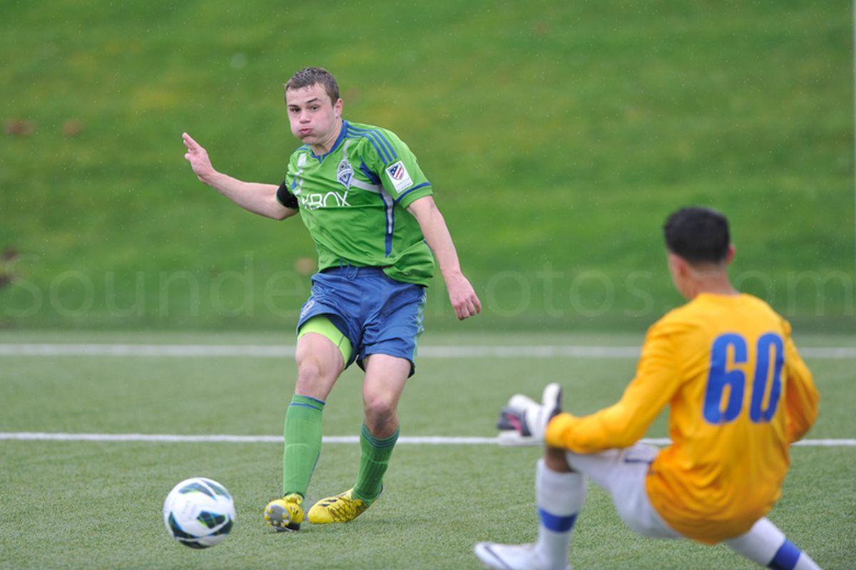 Jordan Morris has 19 goals on the USSDA U18 season