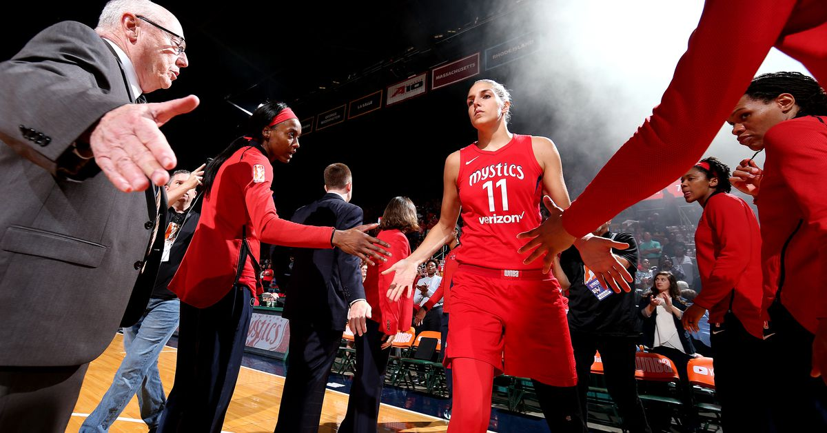 I just became a Mystics fan. Find your WNBA team here! | Plan the perfect BBQ and we'll give you a WNBA team to cheer for