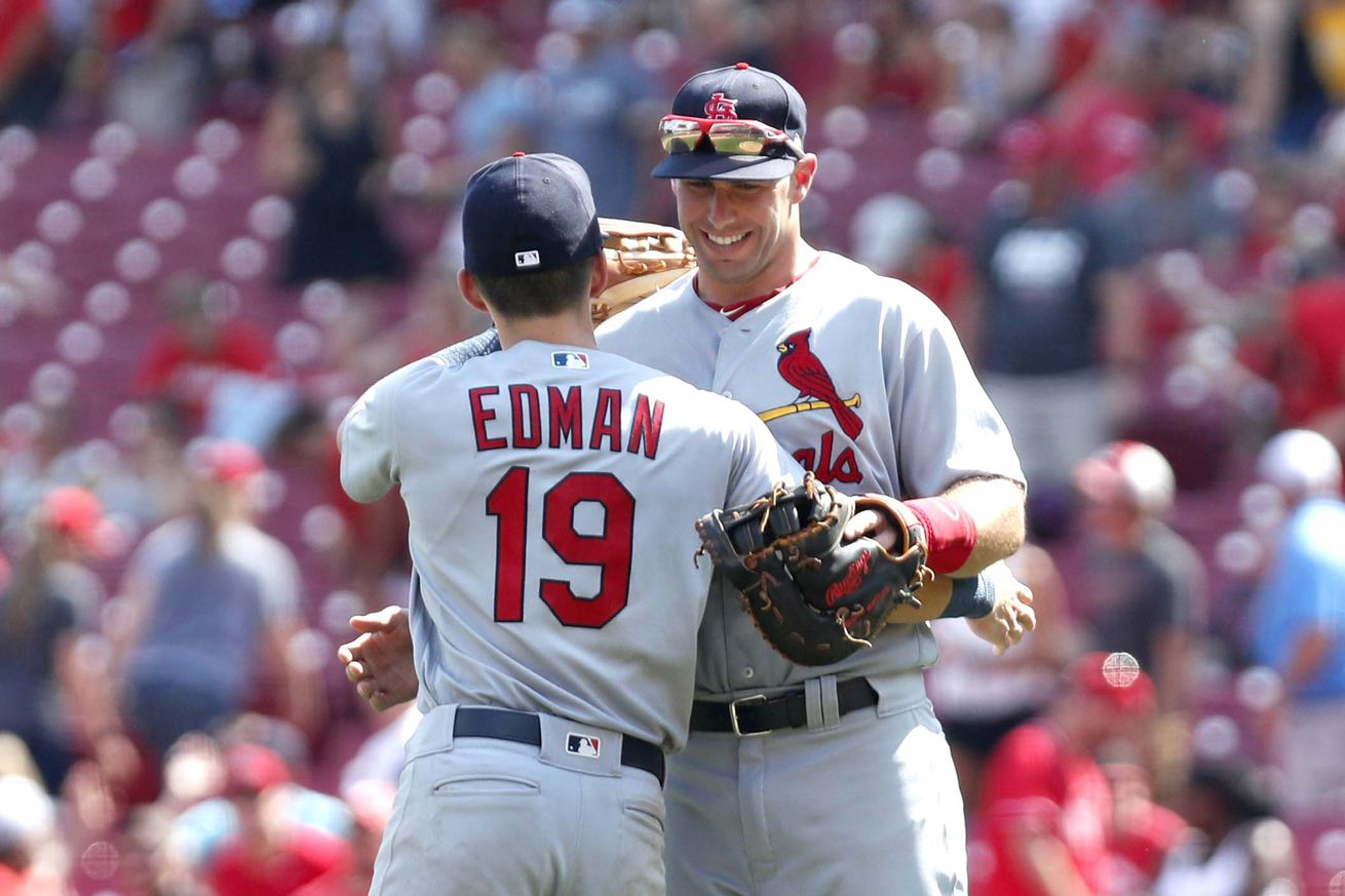Cards Survive 9th Inning Scare to Beat Reds 5-4