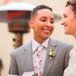 Connecticut Sun guard Layshia Clarendon wed Jessica Dolan in November 2018 at her alma mater, the University of California, Berkeley.