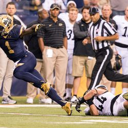 Greg Bryant busts a move