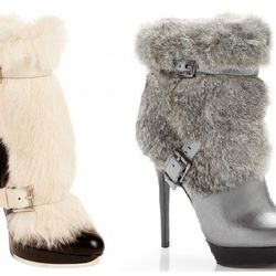 Who says winter boots have to be black, flat and boring! Treat yourself to a glam furry boot to get you through the winter - in style! 'Enna Fur Bootie', $350 michaelkors.com
