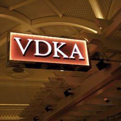 The sign at VDKA.
