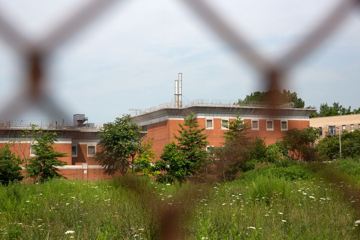 The Crossroads juvenile facility in Brooklyn, July 15, 2021.