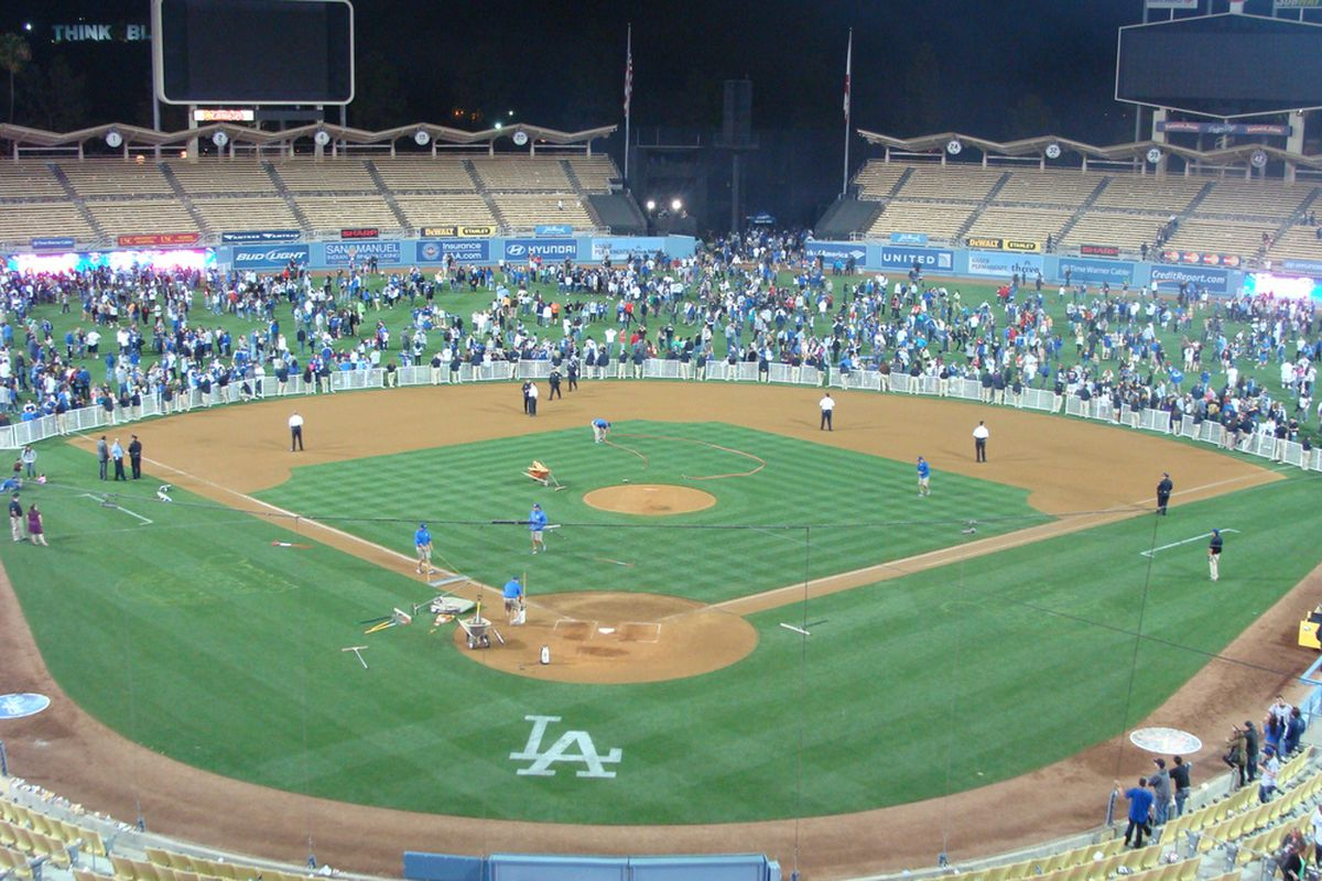 Even if the Dodgers had played this many outfielders, they wouldn't have stopped the Cardinals' offense tonight.