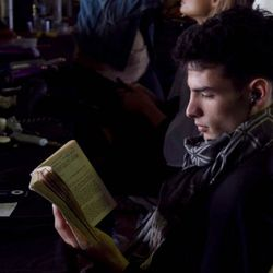 Julian from Martin re-reading his high-school copy of William Golding's Lord of the Flies