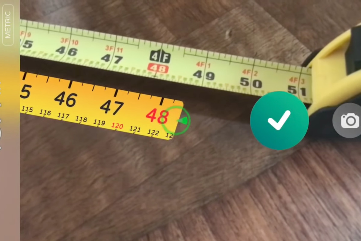 Ar Measure Turns Your Phone Into A Virtual Measuring Tape Curbed