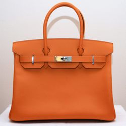 Orange Birkin