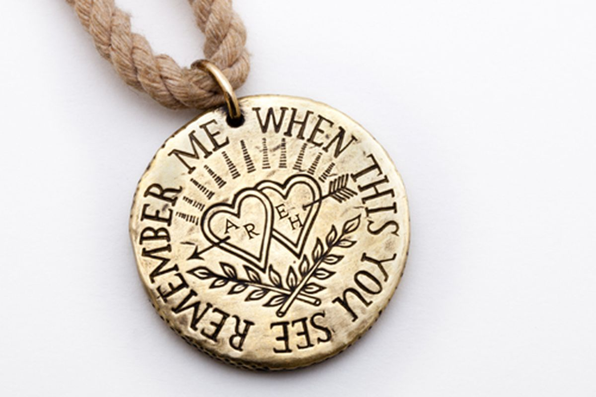 """Digby &amp; Iona's <a href=""""http://digbyandiona.com/convict-token"""">Convict Love Token</a>"""