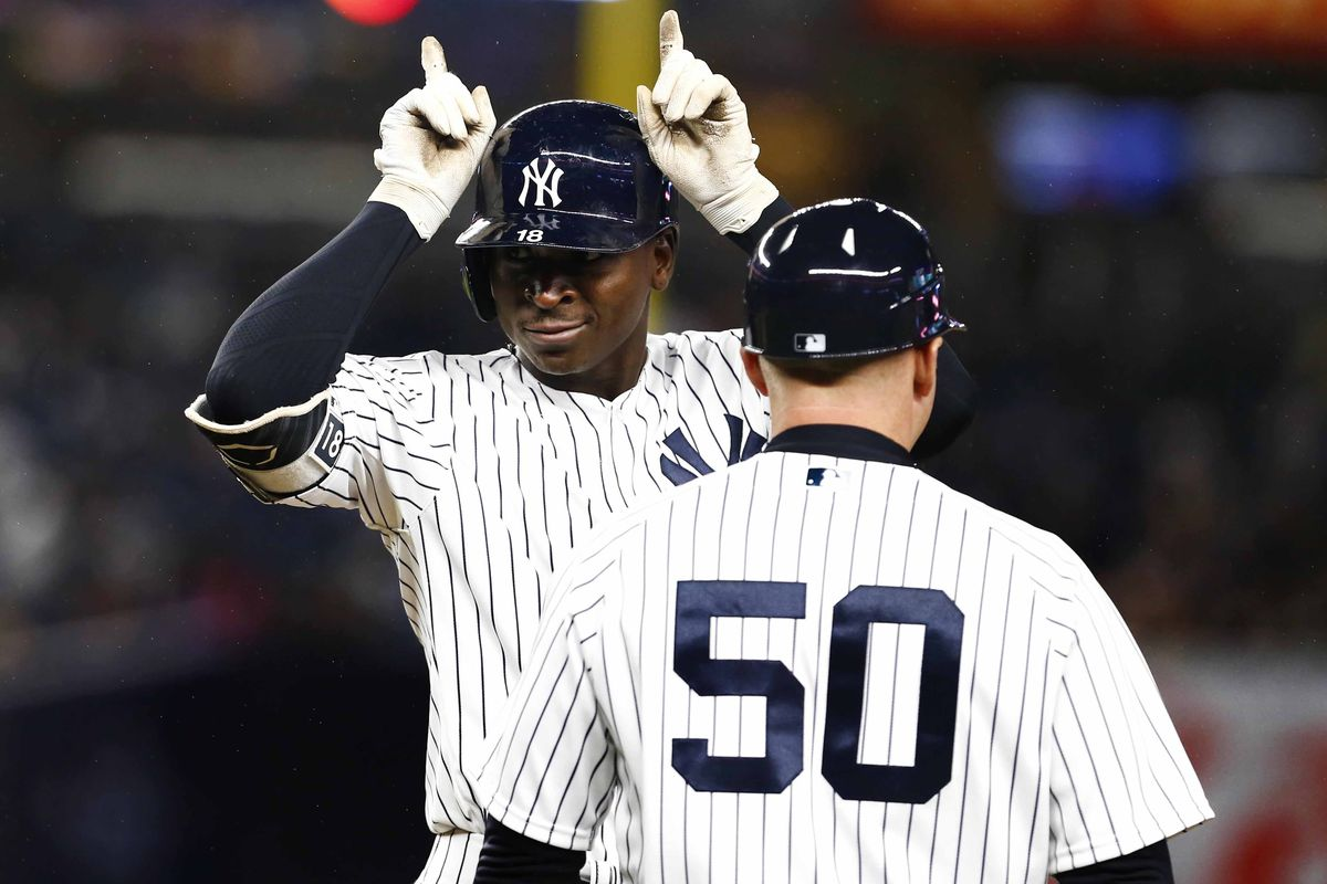 Yes Didi Gregorius, we know you are a minion of the evil Yankees empire. You don't need to make it so obvious.