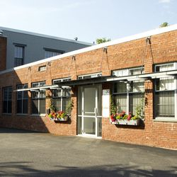 Exterior view of The Grommet's Davis Square office