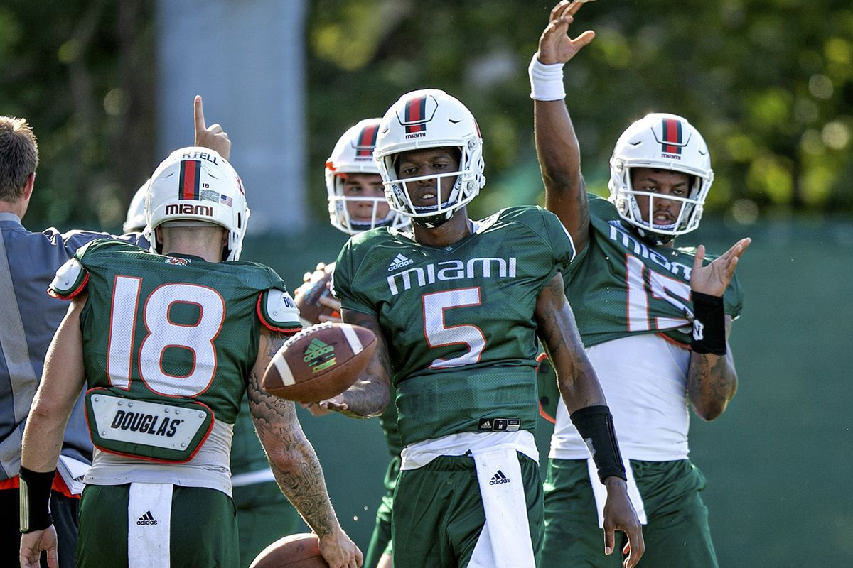 Early Look At Miami's Quarterback Room For 2020