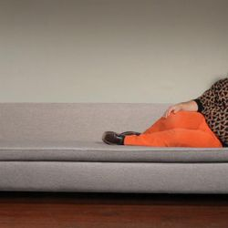 And if you're very lucky, you'll win a modern sofa like the one being modeled by Har Mar Superstar above.