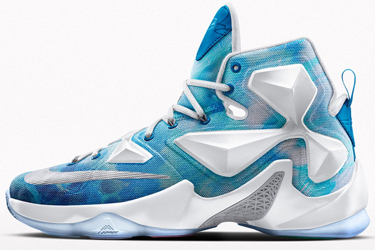 purchase cheap aecbf d702f Cavs Kicks: Nike iD LeBron 13 'Lake Erie' - Fear The Sword