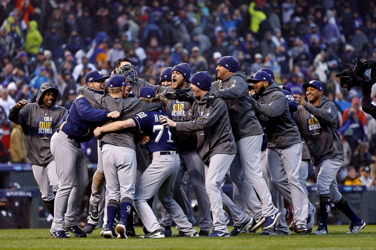 MLB: NLDS-Milwaukee Brewers at Colorado Rockies