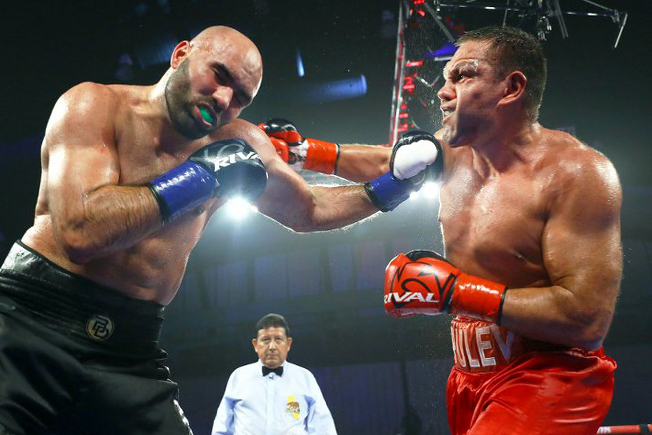 dinu tr.0 - Dinu files protest after loss to Pulev
