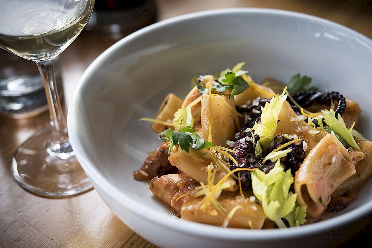 A pasta dish from Ethan Stowell's Tavolàta