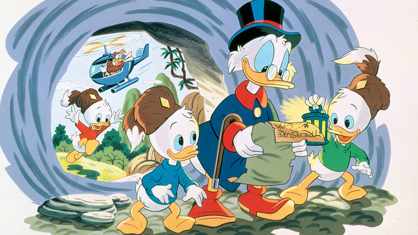 DuckTales cartoon returns in 2017, might solve a mystery ...